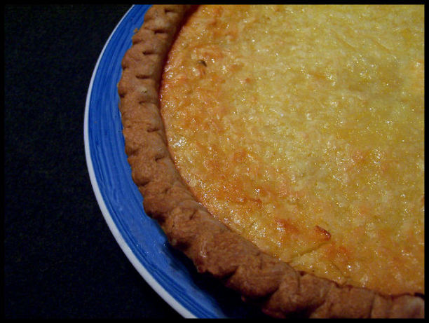 Lime-coconut Buttermilk Pie Recipe - Food.com