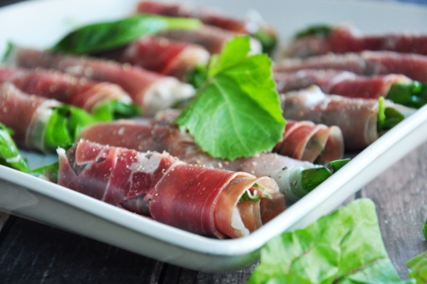 Prosciutto-wrapped Greens Recipe - Food.com