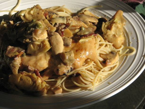 Romanos Macaroni Grill Chicken Scaloppine Recipe Food Com
