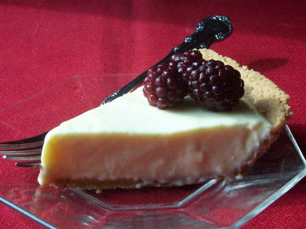 Lemon Cream Cheese Pie With Berries Recipe - Food.com