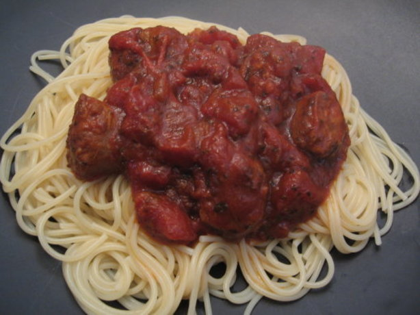 Meat-Lover's Slow Cooker Spaghetti Sauce Recipes — Dishmaps