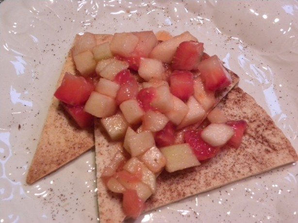 Fresh Fruit Salsa With Cinnamon Sugar Chips Recipe - Food.com