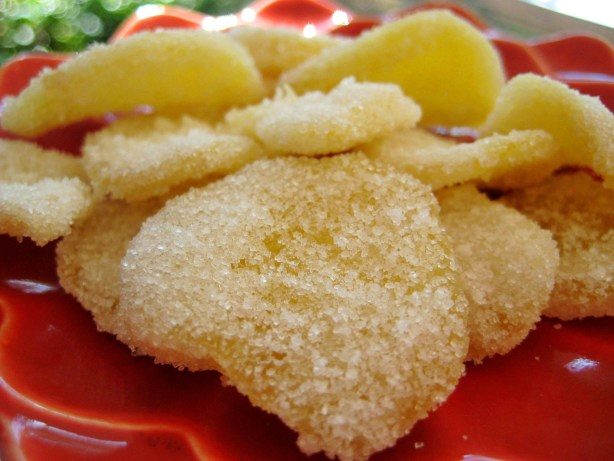 Candied Ginger And Syrup Recipe - Food.com
