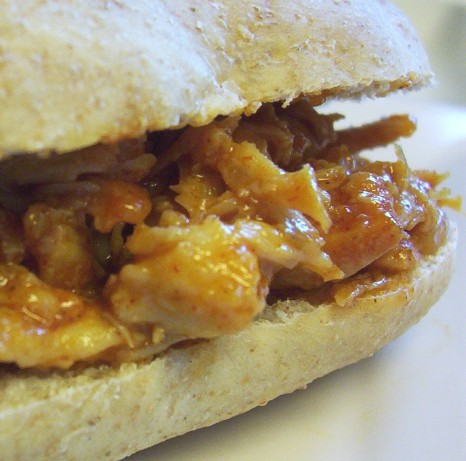 Barbecue Pulled Chicken Sandwiches Recipe - Food.com