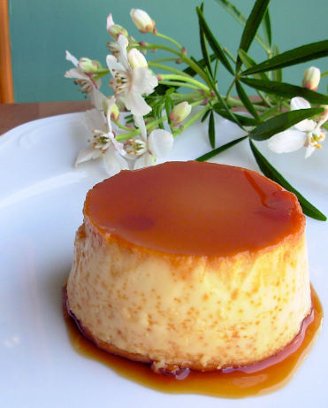 how to make caramel custard pudding in oven