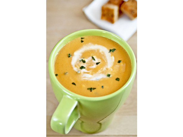 Creamy Carrot And Orange Soup Recipe - Food.com