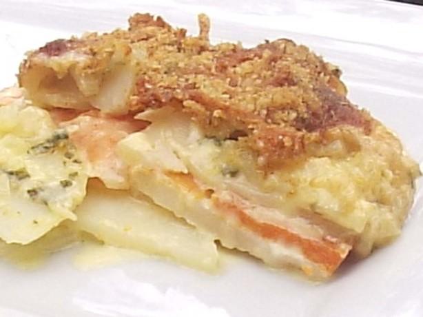 Creamy, Cheesy Potato And Kumara Bake Recipe - Food.com