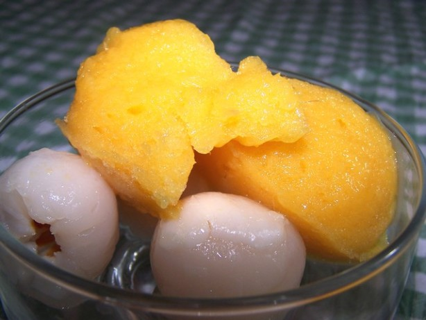 mango lassi lime mango sorbet mango lime sorbet healthy snack recipes ...