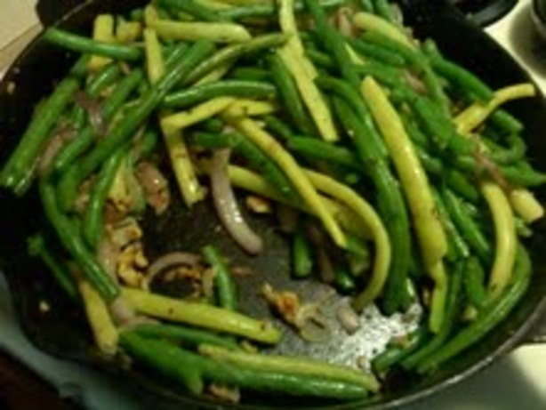 how to cook fresh green beans with garlic and butter