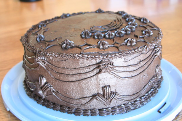 Deep Dark Chocolate Cake Recipe Food Com