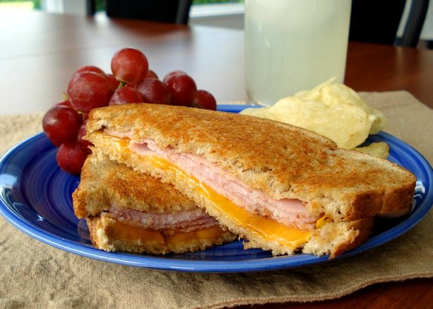 Grilled Ham And Cheese Sandwich Recipe - Food.com