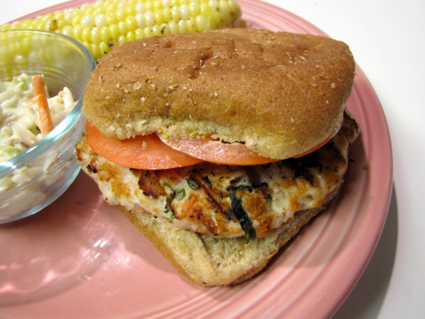 Goat Cheese And Spinach Turkey Burgers Recipe - Food.com