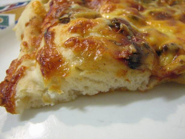 pizza dough bread machine recipe