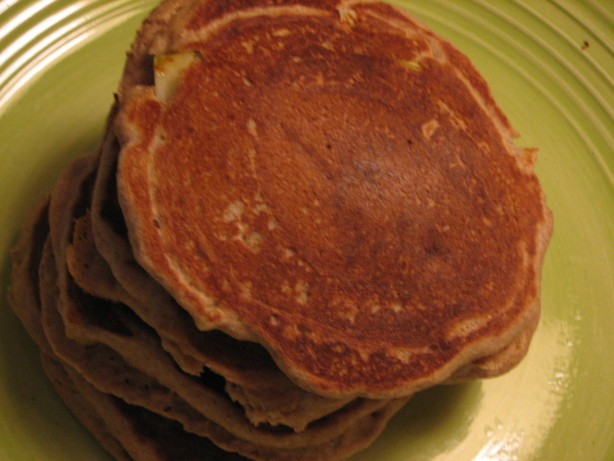 Whole Wheat Cinnamon Apple Pancakes Recipe - Food.com
