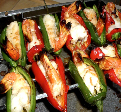 Jalapeno Tiger Prawn Ginger Skewers Recipe - Food.com