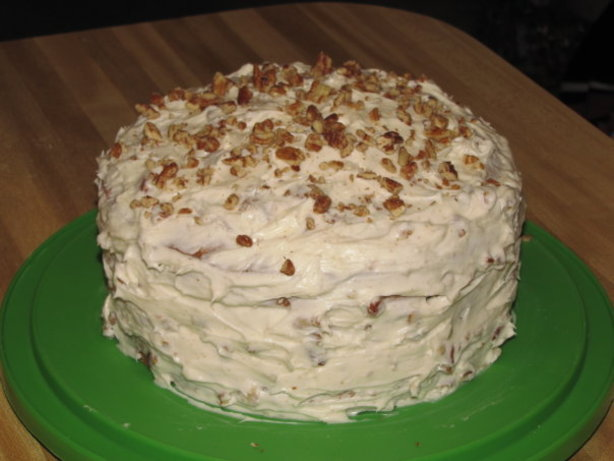 Banana Nut Cake With Cream Cheese Frosting Paula Deen