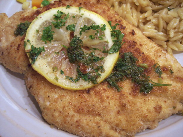 Veal Scaloppine With Lemon Cream Sauce Recipe — Dishmaps