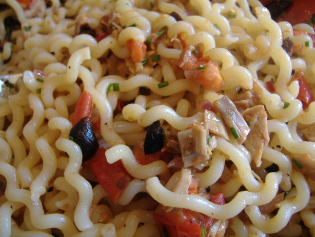 Hot And Cold Pasta Recipe