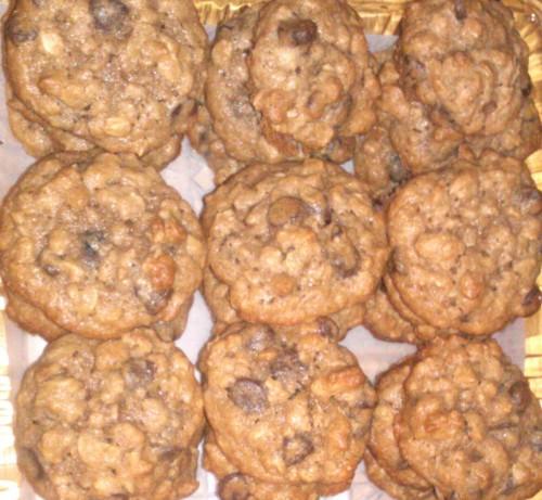 Granola Cereal Cookies Recipe