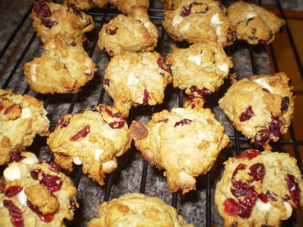 Oatmeal Cranberry White Chocolate Chunk Cookies Recipe - Food.com