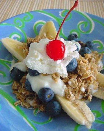 Breakfast Banana Split Recipe - Food.com