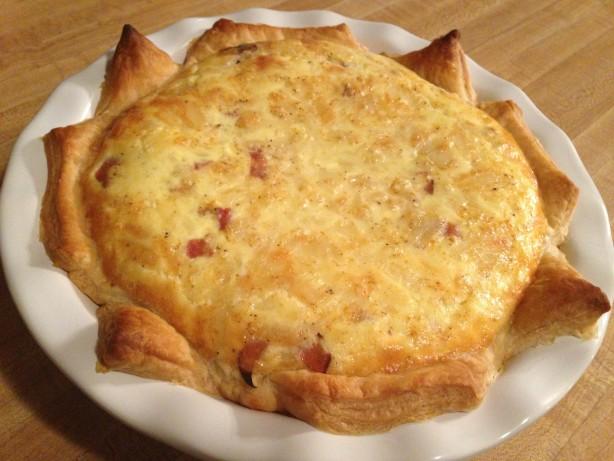 puff pastry quiche lorraine recipe