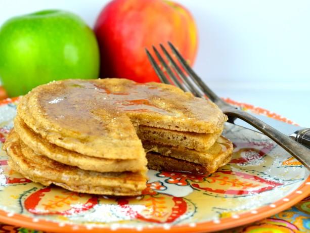 Food Recipe Cinnamon Applesauce Pancakes