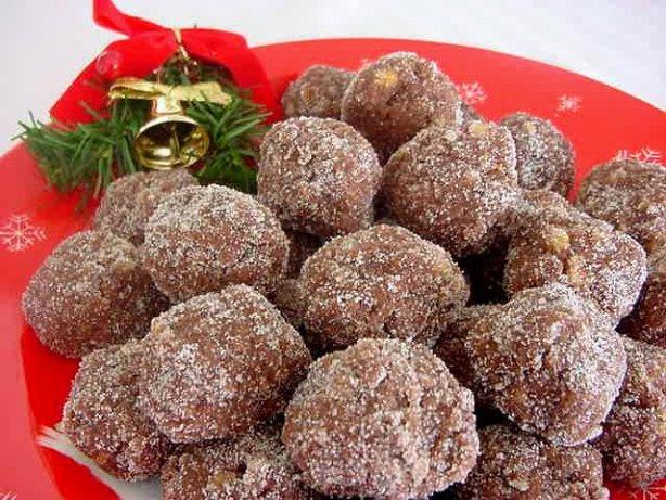 Christmas Rum Balls(Or Bourbon Balls)