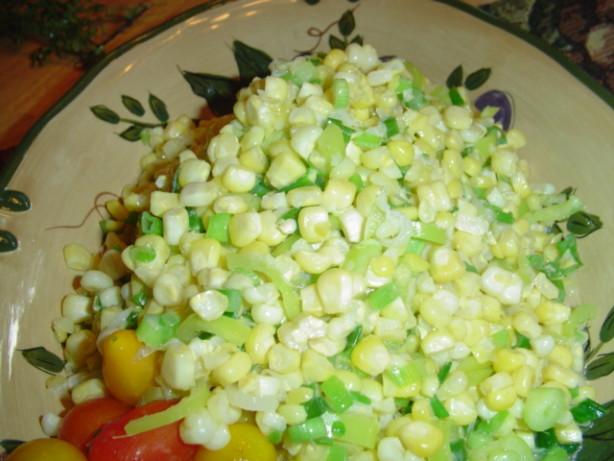 Sauteed Fresh Sweet Corn And Green Onions Recipe - Food.com