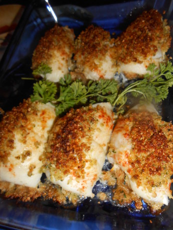 crab stuffed fish recipe