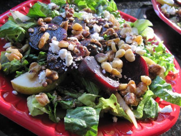Roasted Beet, Pear And Feta Salad Recipe - Food.com