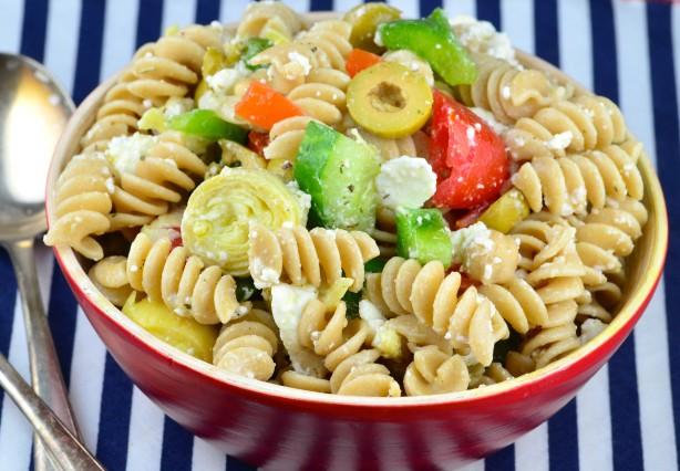 Greek Pasta Salad Recipe - Greek.Food.com