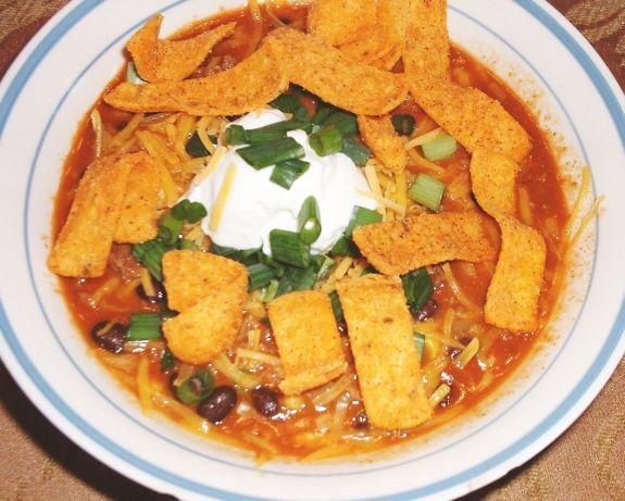 Southwestern Black Bean Chili Recipe - Food.com
