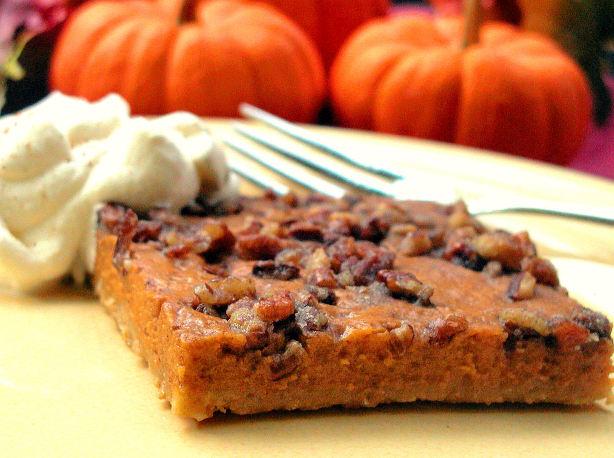 Pumpkin Pie Squares Recipe - Food.com