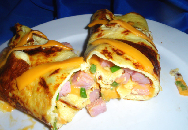 how to make ham and cheese omelette recipe