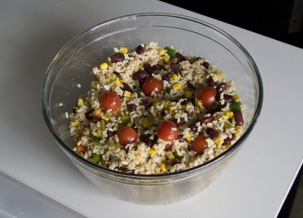 Bean And Rice Salad Recipe - Food.com