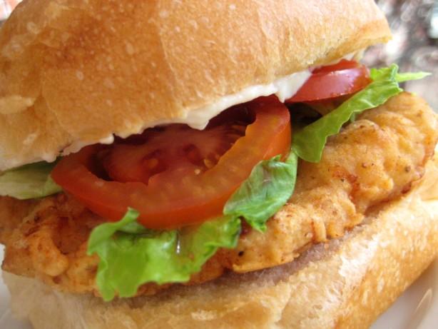 How To Make Chicken Fillet Sandwich