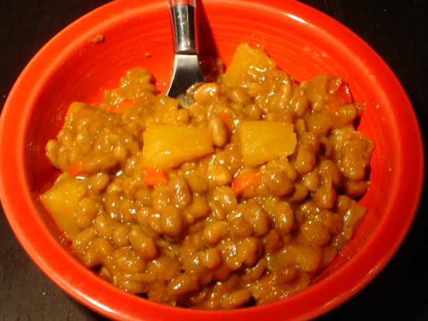 Baked Beans Sweet And Spicy With Pineapple Recipe - Food.com