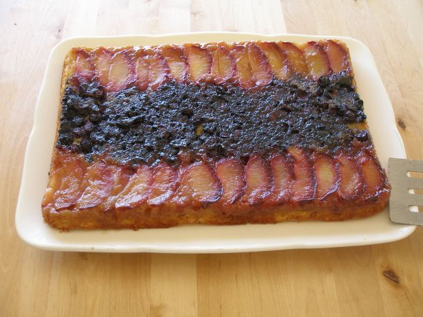Plum Delicious Upside-Down Cake Recipe - Food.com