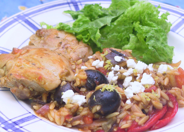 Greek Chicken With Orzo Recipe - Food.com