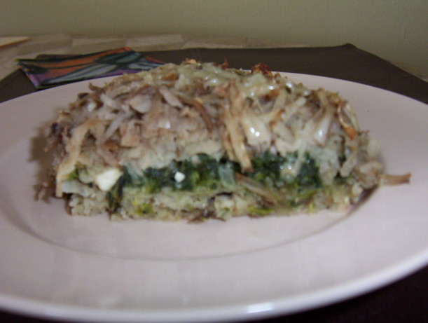 Spinach Potato And Feta Bake Recipe - Food.com