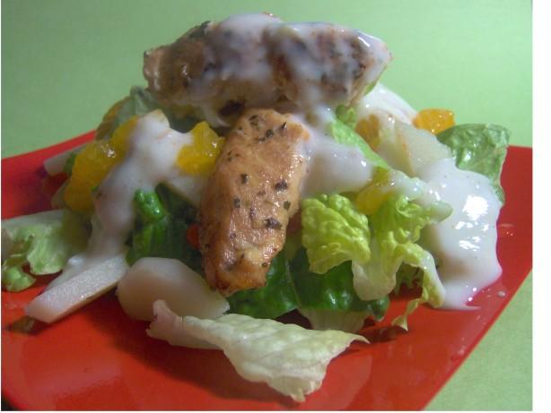 Asian Chicken Salad With Orange-Ginger Dressing Recipe - Food.com