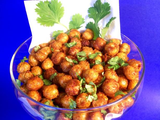 Fried Chickpeas Recipe — Dishmaps