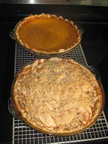 ... Delicious Apple Pie With Oatmeal Crumb Topping Recipe - Food.com