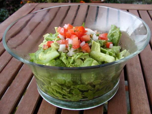 Romaine Lettuce Salad With Cilantro Dressing Recipe - Food.com