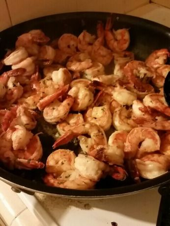 Pan Seared Shrimp With Garlic-Lemon Butter Recipe - Food.com