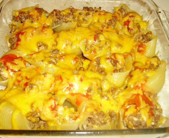 Taco Stuffed Pasta Shells Recipe - Food.com