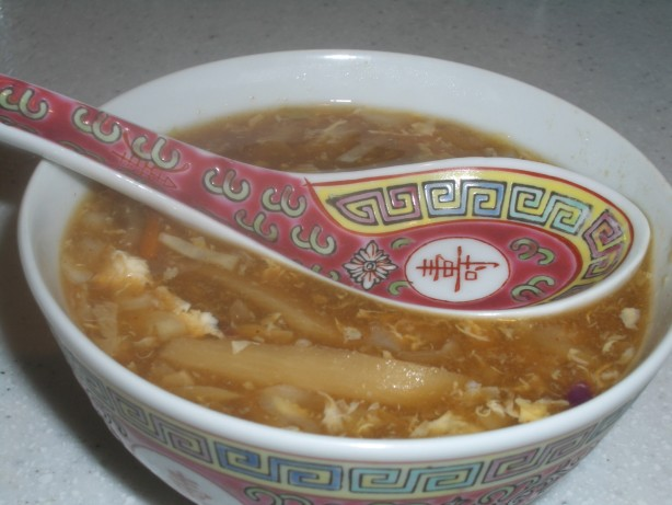 Hot And Sour Soup Betty Foo; Hunan Restaurant) Recipe - Chinese.Food ...