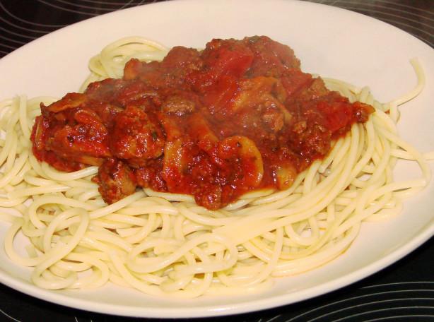 Italian Spaghetti Sauce Recipe - Food.com