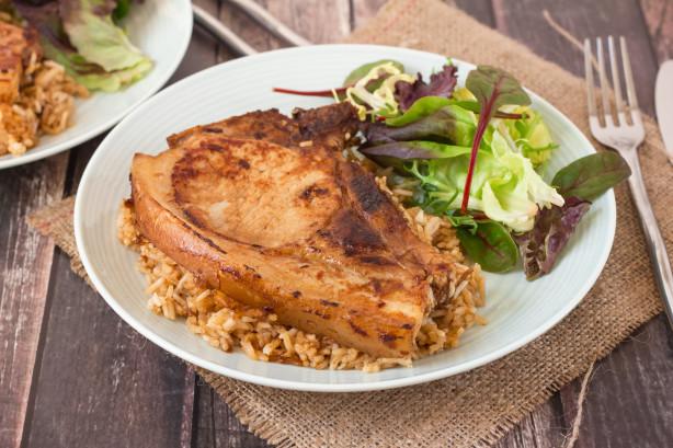 Pork Chops And Rice Recipe Food Com